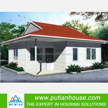 Family living steel prefab homes
