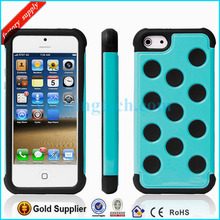Professional Silicone PC Mobile Phone Case for iPhone 5