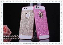 Luxury Glitter Case for iphone6 Plus 5.5inch Shining Hard Back Plastic Cover Cell Mobile Phone Skin For iphone 6 4.7inch