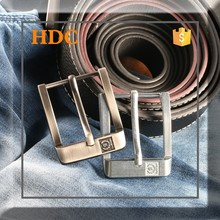 New design fashion metal stock pin belt buckle for leather belt
