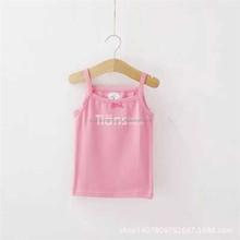 china factory popular organic baby clothes girl's tank top