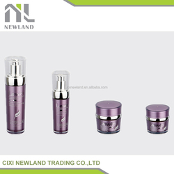 2015 New Lotion Sets Airless Acrylic New Design plastic detergent bottle