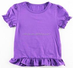 kids ruffle top wholesale girls baby ruffle tunics custom OEM kids ruffle top girls baby tunics kids ruffle kids ruffle blouses
