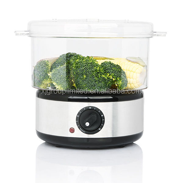 Electric Veggie Steamer ~ Stainless steel vegetable steamer xj iis buy