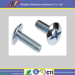 Your first choice! Delicate machine screws Stainless Steel Phillips Pan Head Cutting End for SS or iron