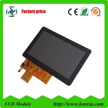"Custom display 800x 480 5"" tft lcd touch screen for medical equipment use"