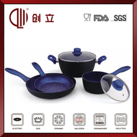 aluminum enamel camping cookware CL-C147