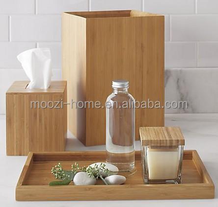 Badkamer accessoires hout – Huis schoonmaken