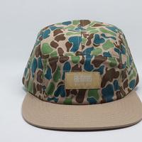 custom made design camo 5 panel snapback cap/hat