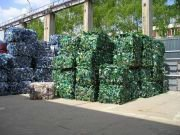 scrap PET plastic bottles