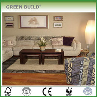 The Cheapest Engineered 7/16'' x 4-3/4'' Brazilian Cherry Quick Clic Wood Flooring