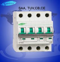 TUV 1~63A DC Miniature circuit breaker L7