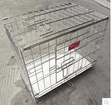 foldable stainless steel pet kennel