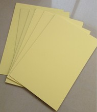 A4 size self adhesive pvc sheet for photo album