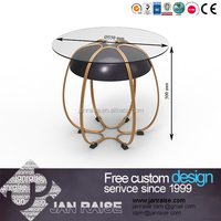 Furniture living room, hot sale coffee tables, glass coffee table glass wheels