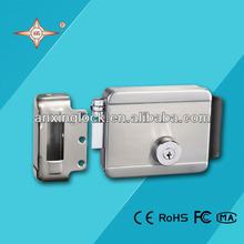 stable electric stainless steel lock by collision for remote control door lock