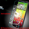 9H Hardness anti-shock Anti Oil Tempered glass screen protector for LG L PRIME ( LG D337 ) , Curved design with nice package