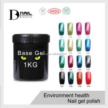 guangzhou beauty make-up 114 color cat eye gel nail OEM tiger nail uv gel