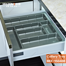 Plastic Cutlery Tray Divider Box in Drawer Organizer for Morden European and American Kitchen Cabinet MIX150408-600