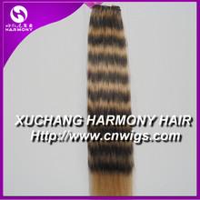 QUALITY remy machine weft human hair/human hair machine weft/machine human hair weft