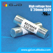 2015 hot sale 5*20mm thermal fuse 2a 600v