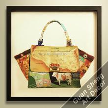 Decoration Fashon Bag Oil Painting Beautiful