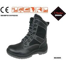 ตำรวจรองเท้าความปลอดภัย, เหล็กนิ้วเท้าความปลอดภัยรองเท้าด้วยลูกไม้