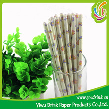 Party Decotation Daisy Butterful Paper Art Straw