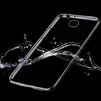 CLEAR TPU Transparent Clear Cell Phone Case Back Cover Skin For Huawei Ascend P7