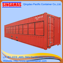 CSC certificated ISO standard size 40ft moving container store