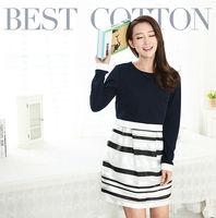 95%cotton5%spandex eco friendly casual wear for pregnant women AK229