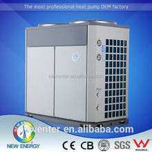 hot sell in china 2014 swimming pool hot sale household air source heat pump with water pump can work under -25