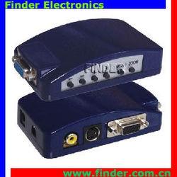 VGA to RCA S-video Composite Adapter VGA to AV converter