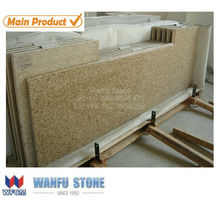 Popular golden sand G682 granite Kitchen countertop in USA for project/own quarry G682 wholesale granite