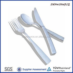 SnowSource customized Smooth surfacee packaging for multi cutlery