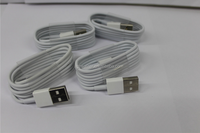 For iphone usb charger cable , wholesale price for iphone flat usb cable