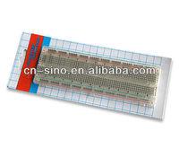 Universal 830pts Solderless Breadboard Project Electronic Bread Board LenthxWidth 16.5x5.6x0.85cm