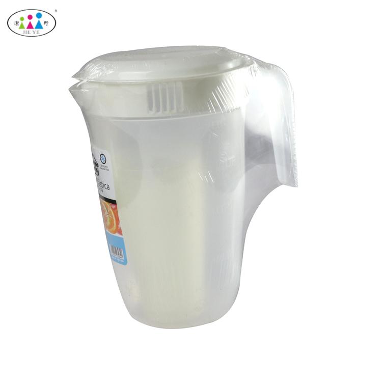 2018新デザイン高品質プラスチック水ピッチャー水差しカップセット