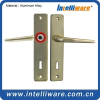 Italian double sided F2 anodizing door latch handle for office