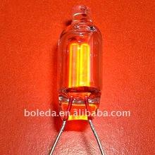 estándar de media y el brillo de la lámpara de neón