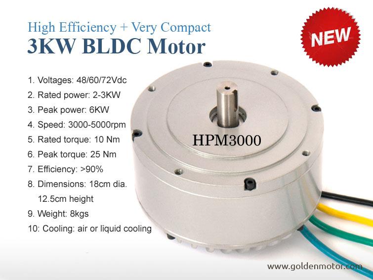 5kw 10kw 20kw electric car bldc motor
