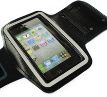 Waterproof Sport Running Arm Band Case For iphone 5s,Gym Mobile Phone Arm Holder Belt Leather Cover