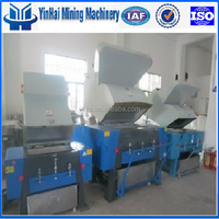 Waste plastic recycling Plastic bottle crusher machine for sale