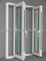 PVC casement door, PVC plastic interior door,PVC bathroom door