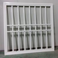 Decorative security iron simple window grills