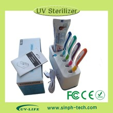 Family UV-C Ozone Toothbrush Sterilizer Cases