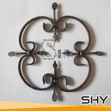 Wrought Iron Decoration Ornamental Iron Accessories