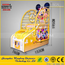 indoor kids play basketball ,arcade basketball play machine from Guangzhou