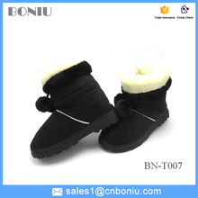 lovely rubber outsole winter boots for women