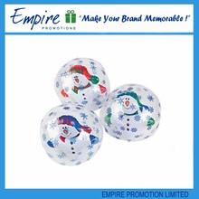 Wholesale popular fashional inflatable christmas beach ball
